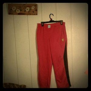 Scuderia Ferrari/Puma Sweatpants, Boys Size L